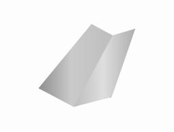 Ендова нижняя оцинокованная (ZN)